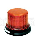 Britax Flange Base 24 LED (3 Bolt) Flash / Sim-Rotate - Amber (CL199AA)