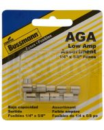Bussmann Glass Fuse 1AG 15Amp (Box of 5)