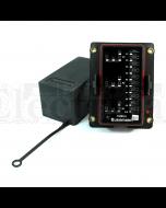 Bussmann 15303-3-6-4 RTMR 15300 Series Rear Terminal Mini Fuse and Relay Box (Dual Bussed, 3 Relays)
