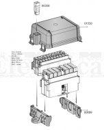 MTA 01550 Dual Module Cover