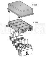 MTA 01530 Four Module Cover