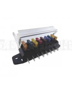 MTA 00590K FuseBlock Kit ATO 8 Pole 16 Terminals + cover & Gasket