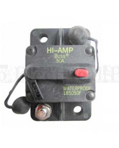 Bussmann 285120F Hi-Amp Circuit Breaker Manual Reset 120A 48VDC