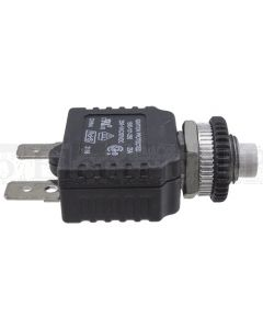 """Mechanical Products 1500-101-250 25A 250VAC/50VDC 7/16""""-28 Series 15 Circuit Breaker (1500-101)"""