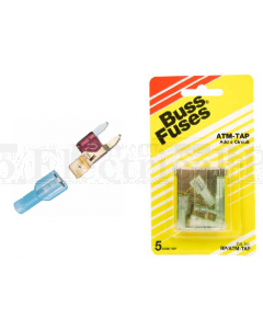 Bussmann ATM-TAP Dual Circuit Fuse Tap Kit 10A Max. 12VDC