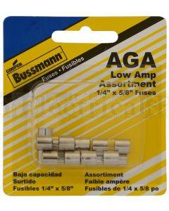 Bussmann Glass Fuse 1AG 2.5Amp (Box of 5)