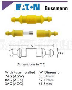 Bussmann Cartridge Fuseholder Inline 30A 32V To Suit 6.3 x 22-32 mm
