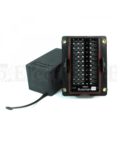 Bussmann 15303-5-6-4 RTMR 15300 Series Rear Terminal Mini Fuse and Relay Panel (Fuses Bussed)