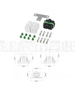 Bussmann CFH-ASS 8 Position Sealed Power Distribution Module Kit