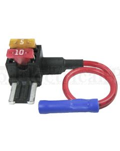 10A In-Line Fuse Holder Low Profile Minifuse Add A Circuit