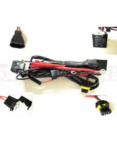 HID Conversion Kit Relay Wiring Harness