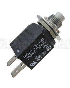 20A Circuit Breakers Panel Mount Series 14 Thread