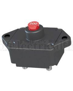 Mechanical Products 19M-P10-B-090 Panel Mount Circuit Breaker 1/4' Stud Manual 90A 30VDC