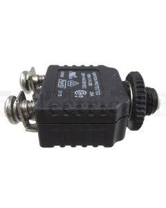 "Mechanical Products 1580-131-300 Manual Reset Circuit Breaker- Screw Terminal 30A 3/8"" -27"