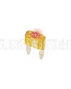 Prolec Mini Blade Fuses with Blown Fuse Indicator 32V 25A